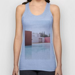 Silent Poetry Between Sky and Water Unisex Tank Top