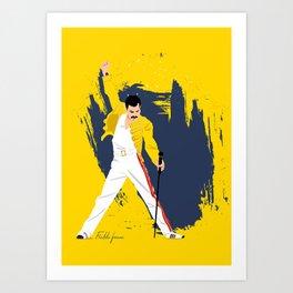 Freddie Forever Art Print