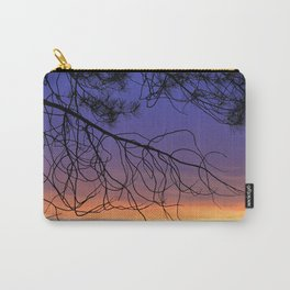 Purple sunset. Into the woods Carry-All Pouch