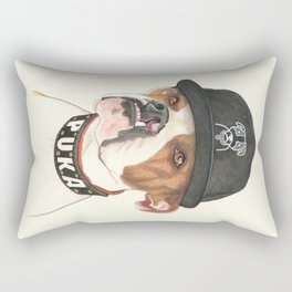 Boxer dog - F.I.P. - @chillberg (#pukaismyhomie)  Rectangular Pillow