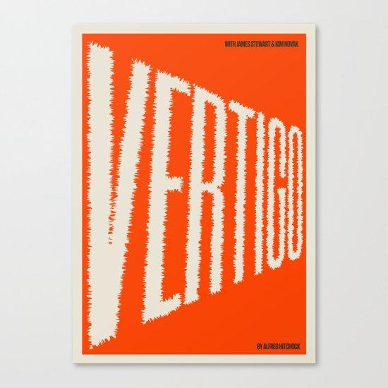 A MOVIE POSTER A DAY: VERTIGO Canvas Print