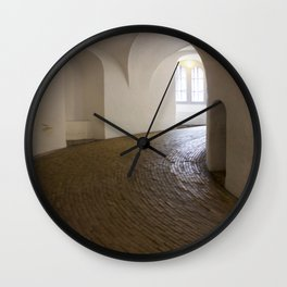 Copenhagen Round Tower 2 Wall Clock
