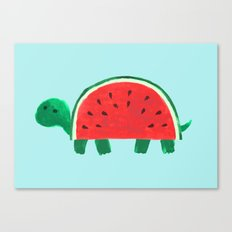 Slow Day Canvas Print