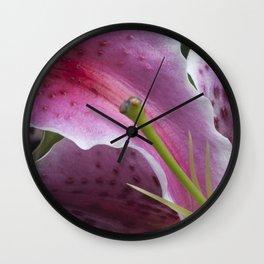 Pistil Wall Clock