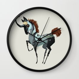 Tiny Unicorn (3 of 3) Wall Clock