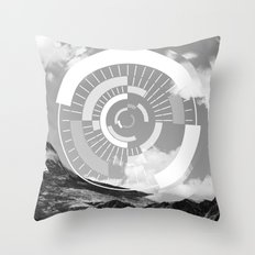 Voyage Dans Le Temps Throw Pillow