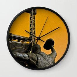 Maz 1960 World Series Hero Wall Clock