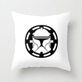 Trooper Helmet SW Episode II Throw Pillow