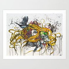 Loud Mind Art Print