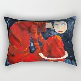 On Top Of The World Rectangular Pillow