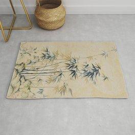 Bamboo,Oriental painting,Chinoiserie,chinese,koreanpainting Rug