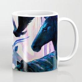 Hero Adventures Dreams Fantasy Illustration Art Coffee Mug