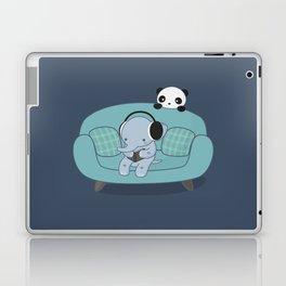 Kawaii Elephant And Panda Laptop & iPad Skin