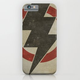 lightning strike zone iPhone Case