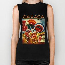 Oaxaca Mexico Vintage Travel Biker Tank