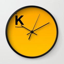 Potassium Wall Clock