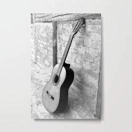 Gitarre Metal Print