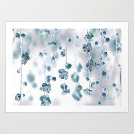 Cherry Flower 2 (spring floral pattern) Art Print