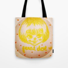 Lemon Meringue Tote Bag