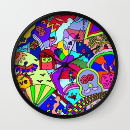 Abstract 26 Wall Clock