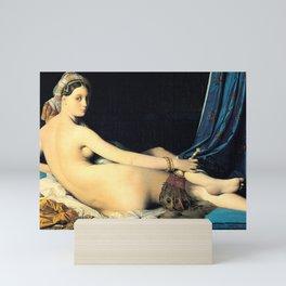 La Grande Odalisque by Jean Auguste Dominique Ingres Mini Art Print