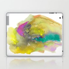 Planes in Watercolor Laptop & iPad Skin