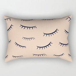 Eyelash on point Rectangular Pillow