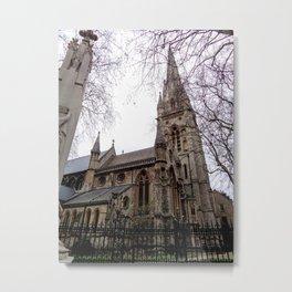 St Mary Abbots Parish Church London Metal Print