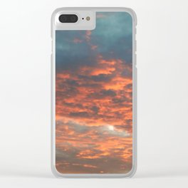 Evening Drive Home Clear iPhone Case