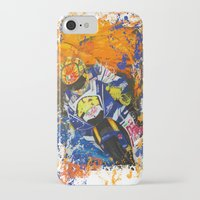 moto iPhone & iPod Cases featuring Moto Splash by Joshua Meno