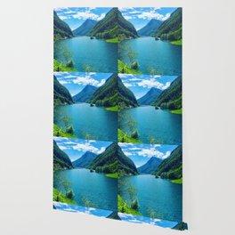 Dolomite Glacial Lake Wallpaper