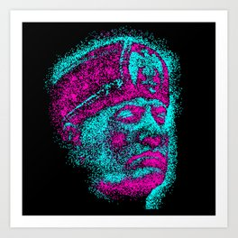Mussolini For City Council Art Print
