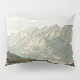 Rocky Mountains Photography Print Pillow Sham