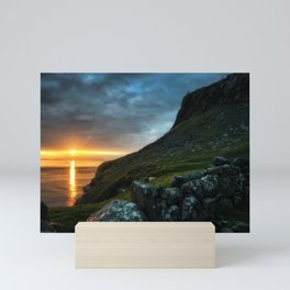 The Watcher Over The Sea Mini Art Print