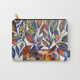 WAX PLANT in blue Carry-All Pouch