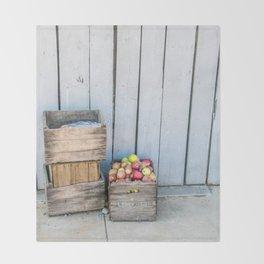 An Apple a Day Throw Blanket