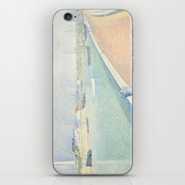 Georges Seurat - The Channel of Gravelines iPhone Skin