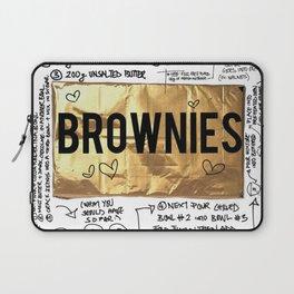 brownie recipe Laptop Sleeve