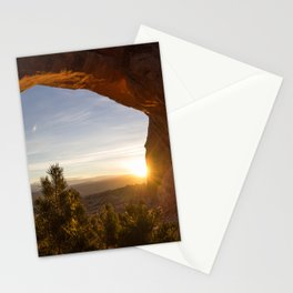 Sunrise at Partition Arch II Stationery Cards