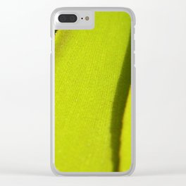 Vegetal lines Clear iPhone Case