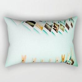 Polaroids Rectangular Pillow