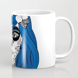 Santa Muerte Blue Coffee Mug