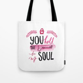 You hold the key to my soul Tote Bag