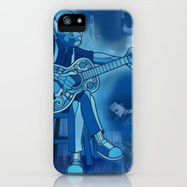Downhome Blues iPhone Case