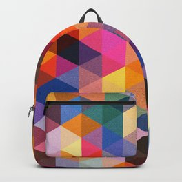 Coloured Triangles Backpack