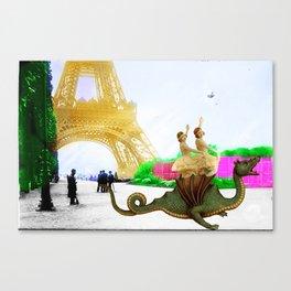 Dragon Tamers Canvas Print