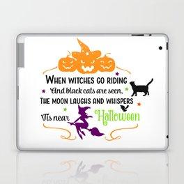 It Is Halloween Laptop & iPad Skin