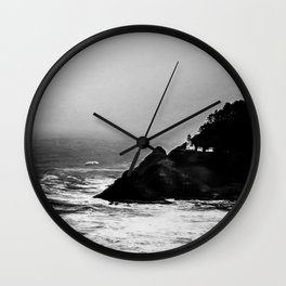 A Dark and Stormy Night Wall Clock