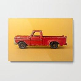 Ford Pickup - Vintage Matchbox Car Metal Print