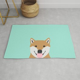 Cassidy - Shiba Inu gifts for dog lovers and cute Shiba Inu phone case for Shiba Inu owner gifts Rug